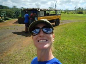 One of our two guides for the day, Misty from Kauai Backcountry Adventures