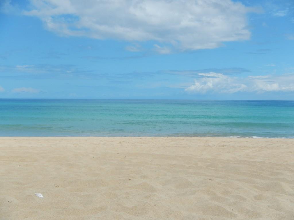the beach at polihale, kauai