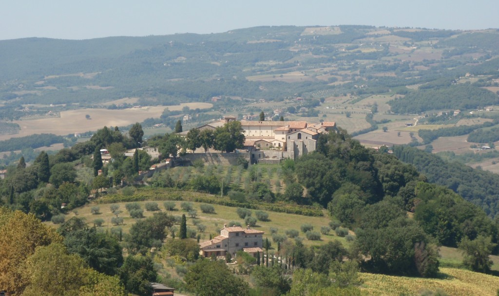 A view of the Italian countryside